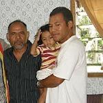 Lere with son Bobi, Dili 2010